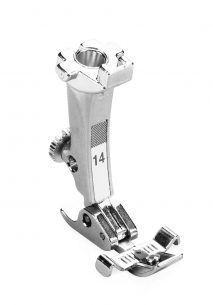 #14 Zipper Foot With Guide (Mechanical Models Only)
