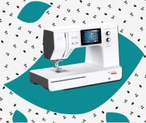 Bernette B77 Sewing and Quilting Machine